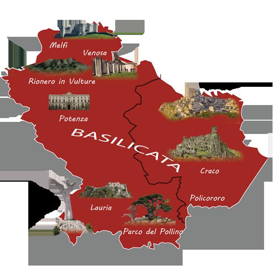 infografica della basilicata